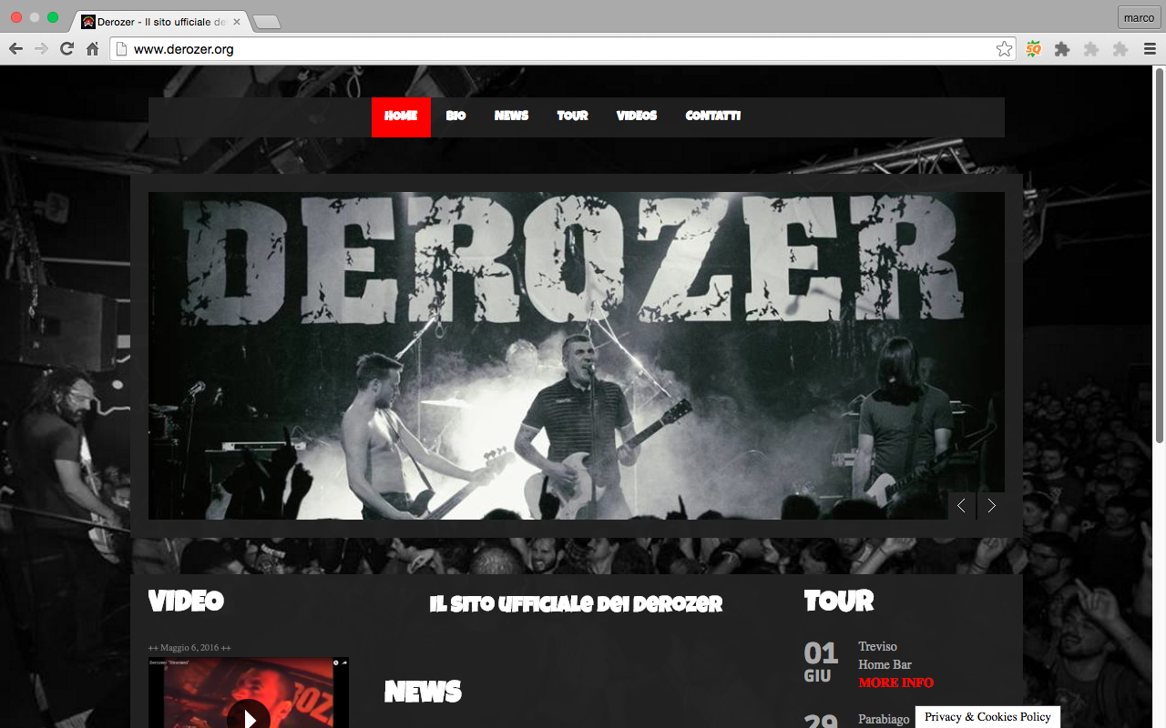 Sito Derozer Punk Rock