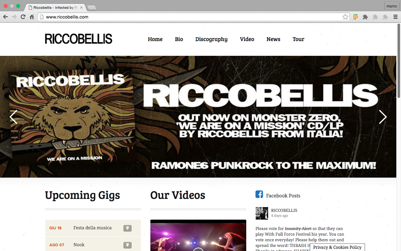 Sito Riccobellis Punk Rock