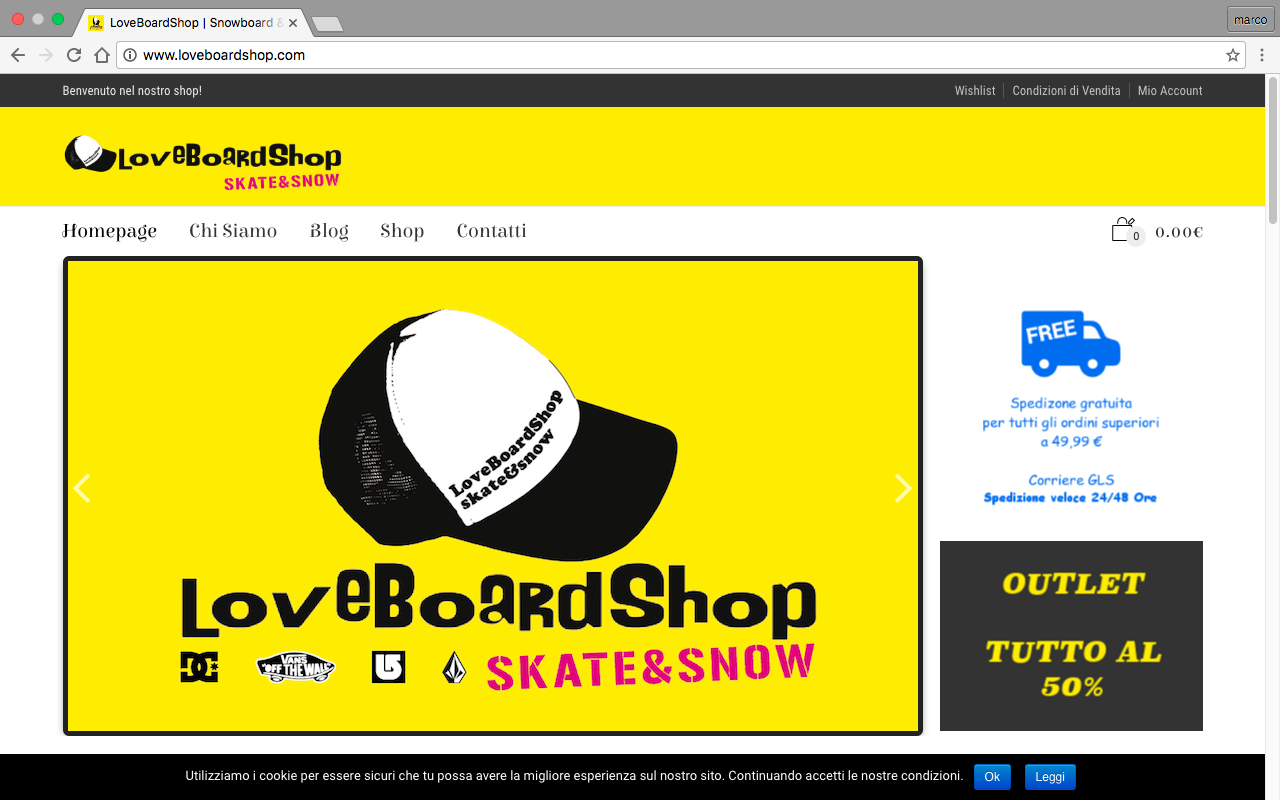 loveboardshop codroipo