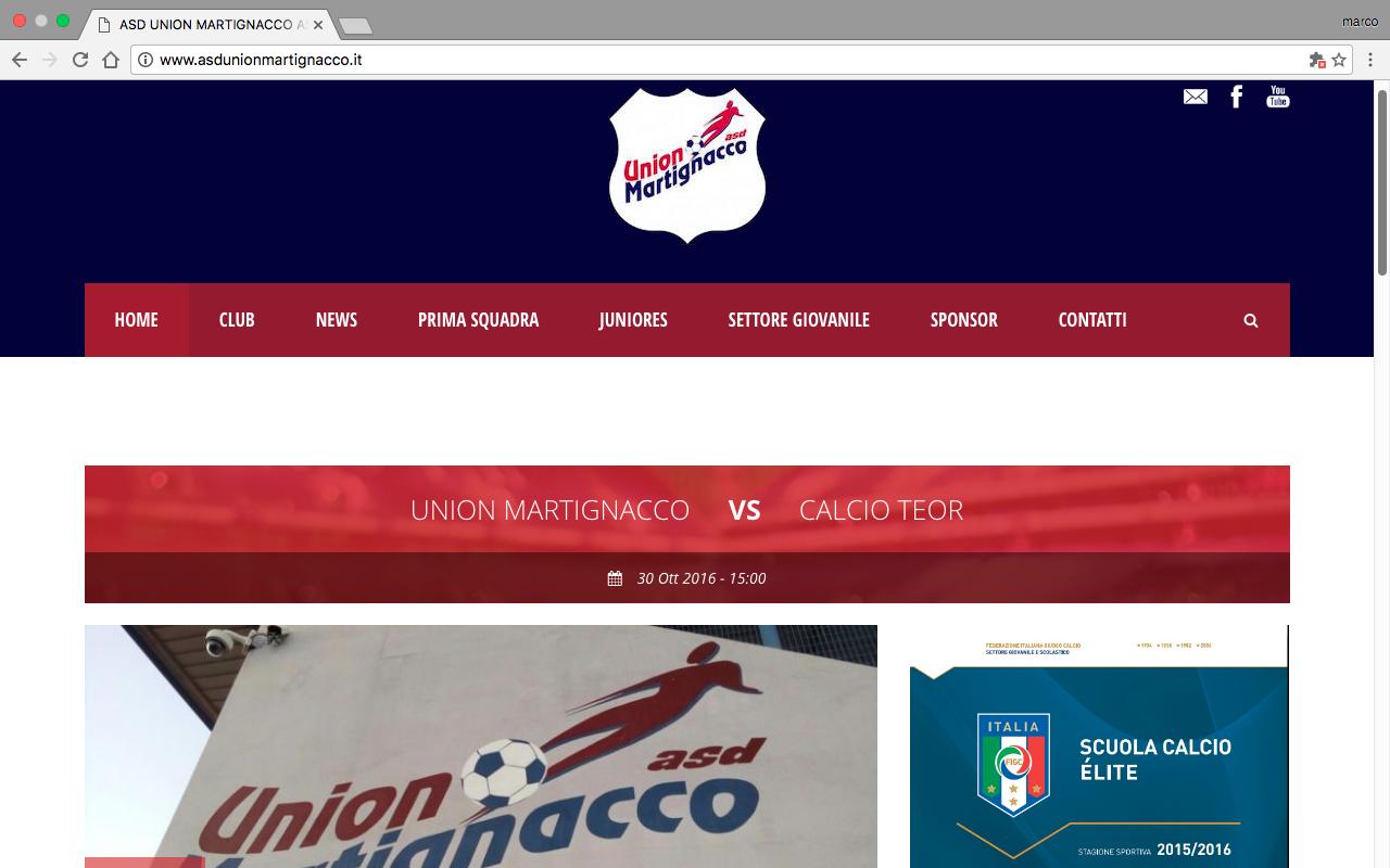asd union martignacco calcio